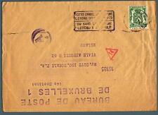 BELGIO - BELGIUM - 1944 - Lettera affrancata per 35 cent.