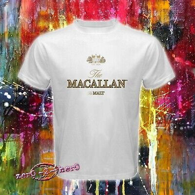 MACALLAN The Malt Whiskey Logo Scotch beverages Men/'s New T shirt S to 3XL
