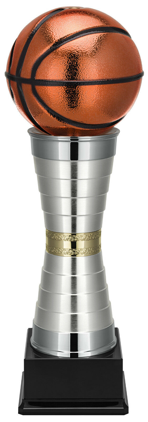 STUNNING GIANT METAL 620mm BASKETBALL TROPHY BEST QUALITY FREE ENGRAVING