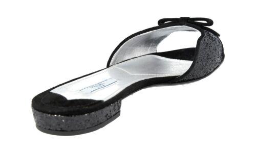 36 5 Sandalo Nero 1xx229 Prada Lusso 36 Nuove wBUBv0Yp