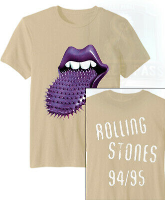 The Rolling Stones Mens T-Shirt Voodoo Lounge Tongues