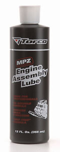 Torco MPZ Engine Assembly Lube Lubricant Soluble  Motorsport Rally