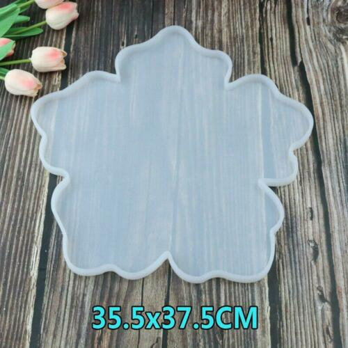 DIY Silicone Agate Coaster Pad Casting Mold Resin Making Epoxy Mould Craft Tools