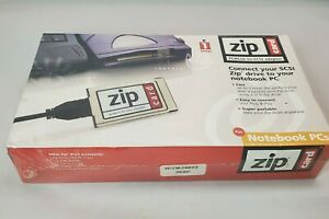 Iomega-zip-pcmcia-to-scsi-adapter-card-for-Notebook-PCs-with-iomegaware-software