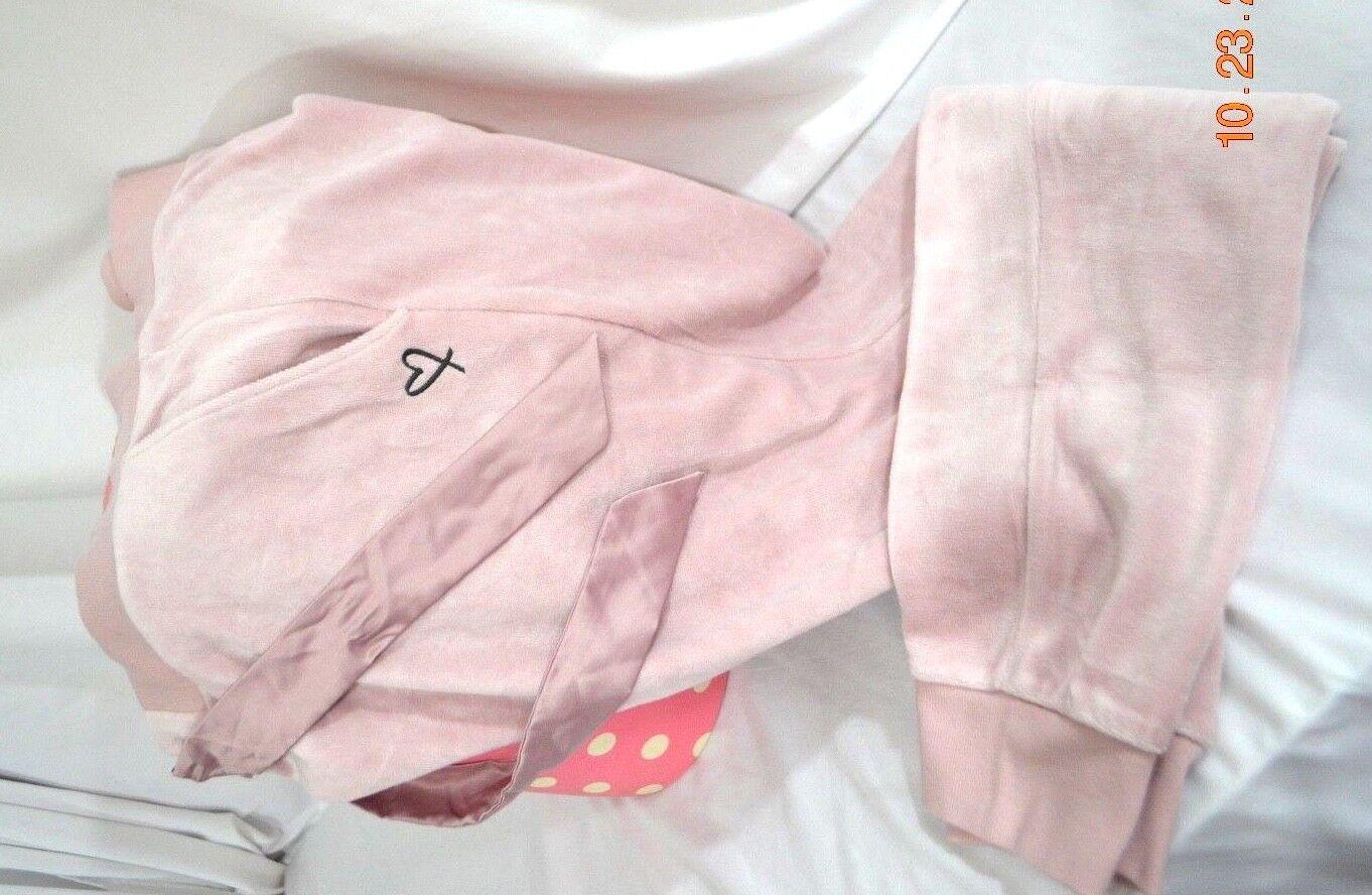 Victorias Secret Lounge VELOUR SHINE Jogger Pajama Pants Pajamas NWT M