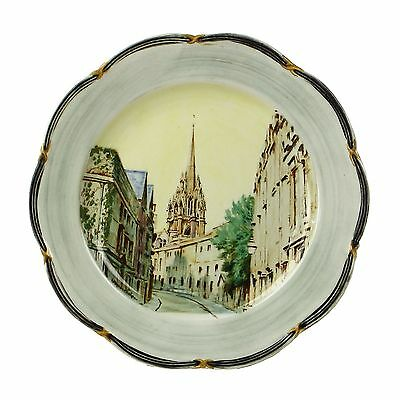 Hand Painted Spencer Edge Vintage Church of St Mary Virgin Oxford Souvenir Plate