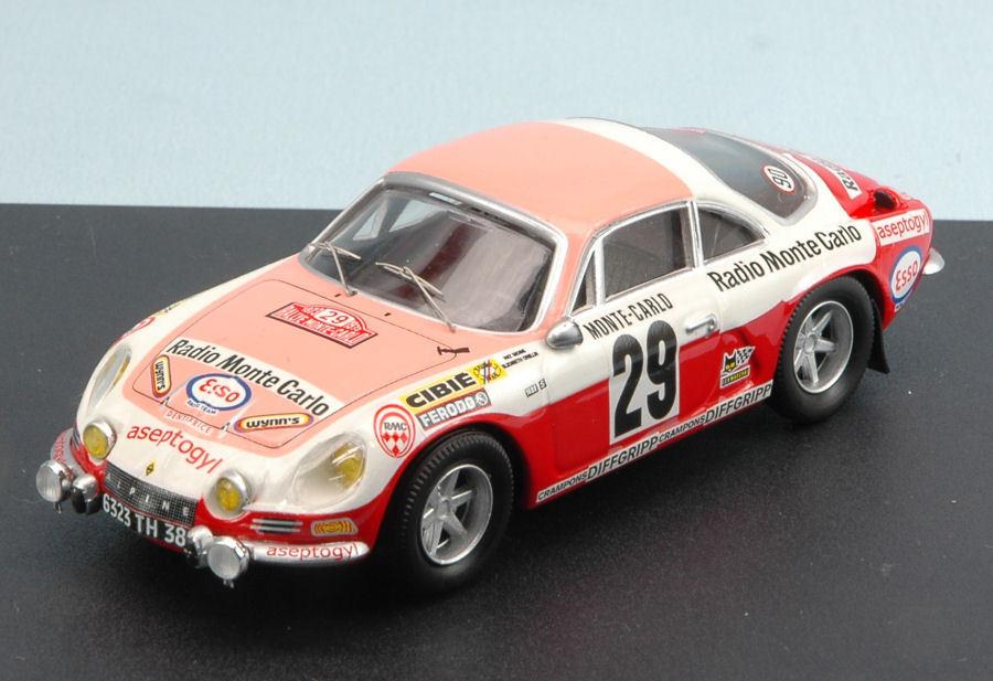 Alpine a110   29 47. monte carlo 1973 pat moss carlsson   e. crellin 1 43 modell