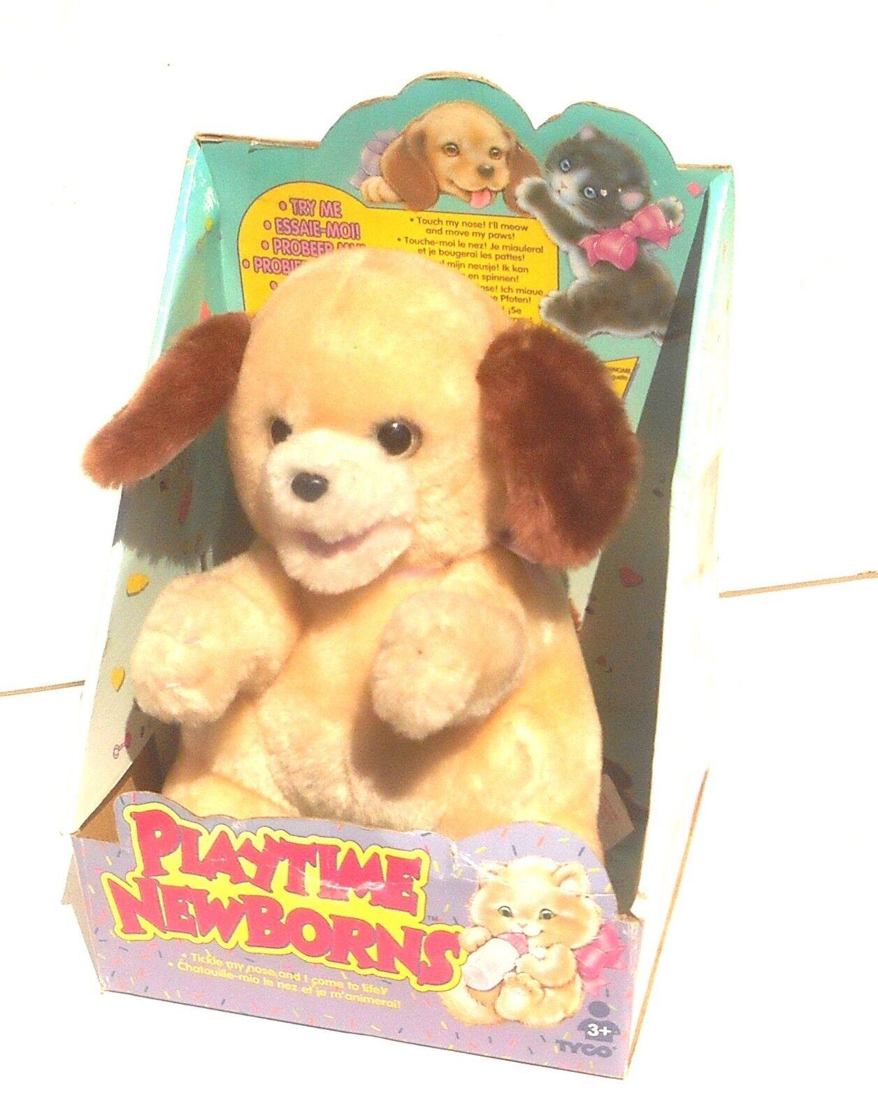 1995 Tyco Industries Inc  Playtime Newborns  PUPPY  8