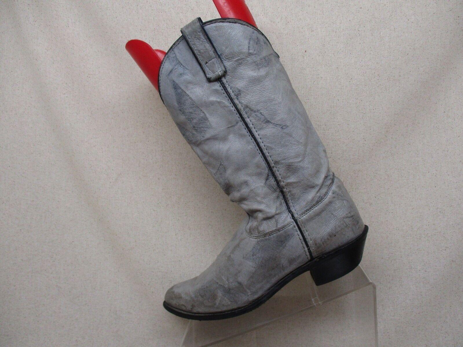 CAPEZIO Gray Leder Cowboy Western Stiefel Stiefel Western Damenschuhe Größe 8.5 M Style L382 USA 4d0288