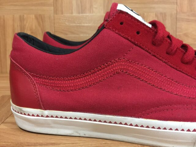 6031001680 RARE VANS Old Skool LX Huff Chilipepper True White Sz 13 Men s Shoes Cool