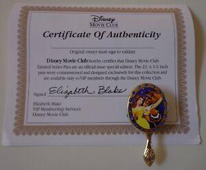 Disney-Pelicula-Club-Exclusivo-Pin-36-la-Bella-y-la-Bestia-Pin