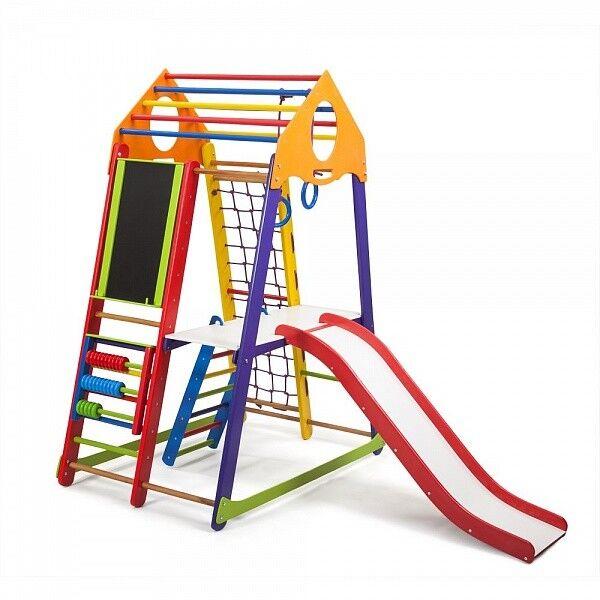 Spielgeräte Kind Mehr funktionaler sportkomplex  Kletterwand Sportgerät Turnwand