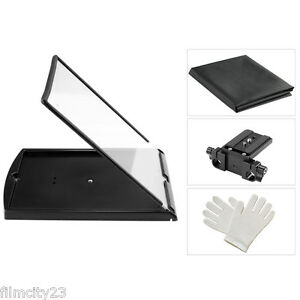 """Compact apuntadores 10/"""" for iPhone and Smartphone Teleprompter Black Fish m"""