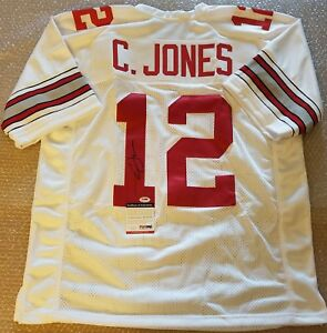 Details about Cardale Jones Signed Ohio State Buckeyes Pro Style Jersey PSA/DNA COA