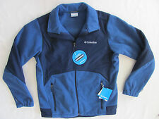 Columbia Ballistic III Fleece Jacket- Windproof- Blue - Men's Med - NWT -$150