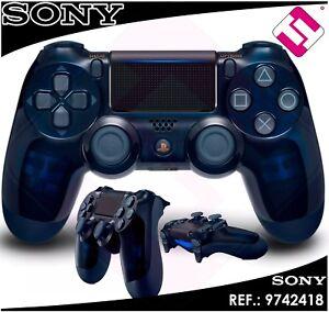 MANDO-PS4-DUALSHOCK-AZUL-TRASLUCIDO-PLAYSTATION-4-SONY-EDICION-500-MILLONES