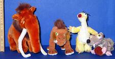 Ice Age === Walt Disney 4 Figuren Plüsch TOP !