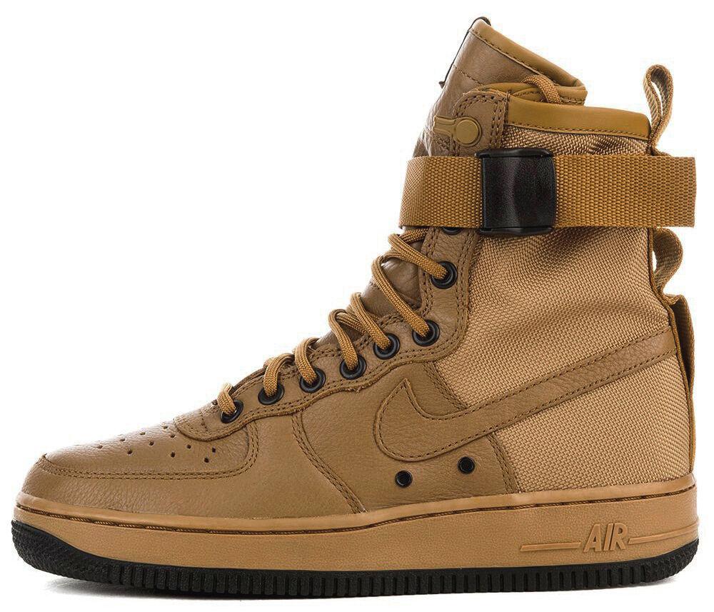 Nike Special Field Air Force 1 SF SF SF af1 Desert ochre talla 38 us7 sp 857872-700 Tisci  barato y de alta calidad