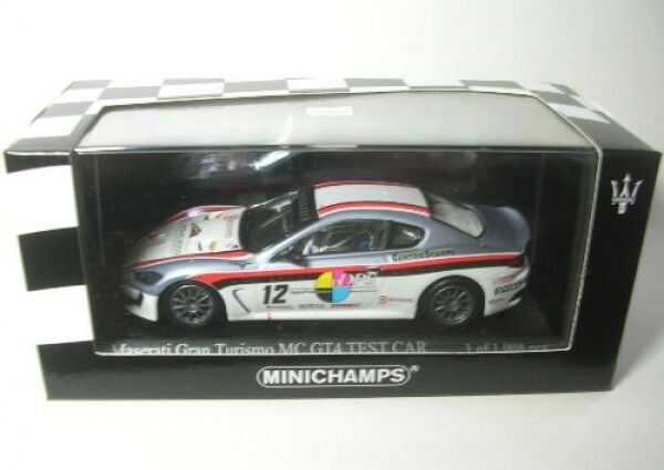 Maserati Granturismo Mc Gt4 N°12 Trofeo 2010