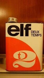 ancien-Bidon-d-039-huile-2-litres-vide-ELF-2-TEMPS