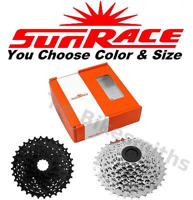 Sunrace Csm909Au 11-32 9-Sp Cassette Zinc Silver