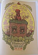 Dinosaur Jr Poster Mini Poster Reprint for 2010 Concert in Madison WI 14x10