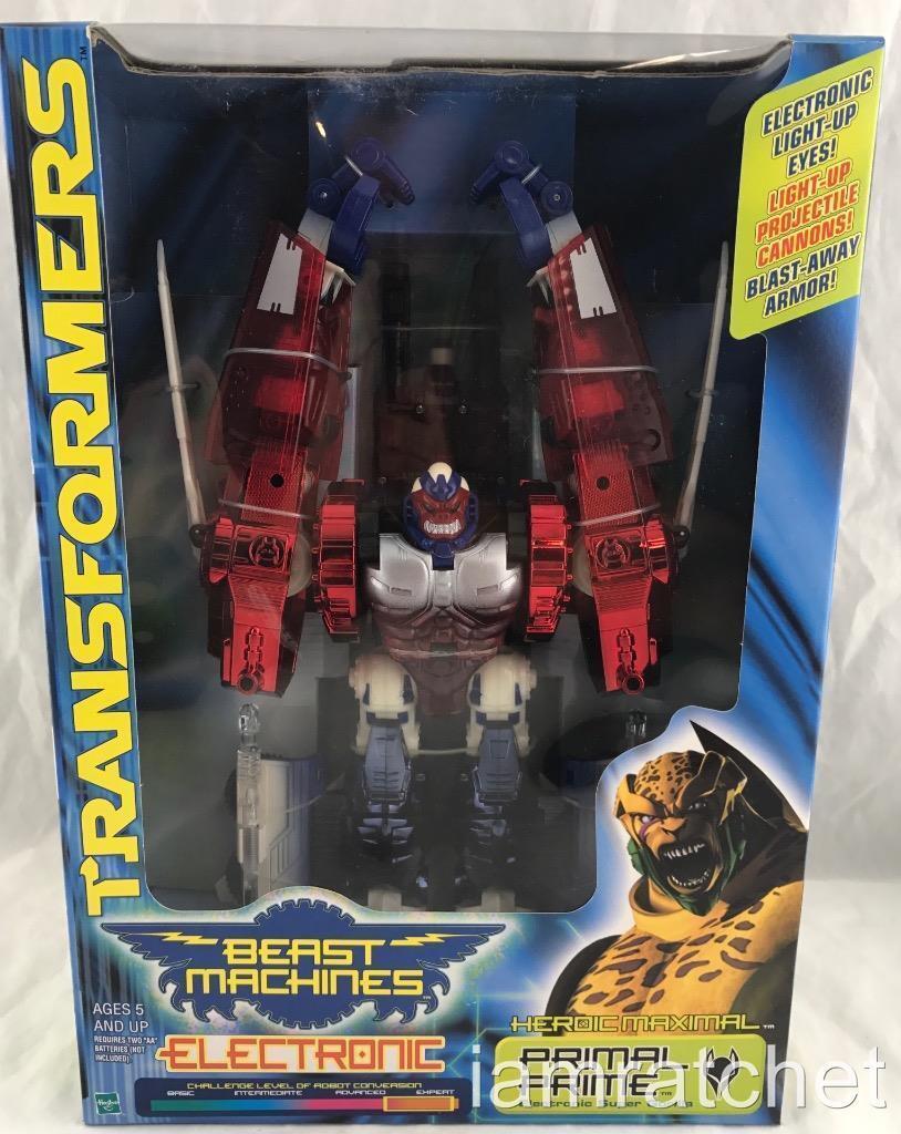 Transformers Beast Wars Bestia máquinas Primal Prime sin usar y en caja sellada Sellado