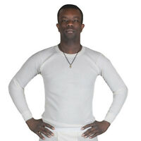 Fox Outdoor Thermal Underwear Long Sleeve Shirt Top Natural Or Black S-xxxl