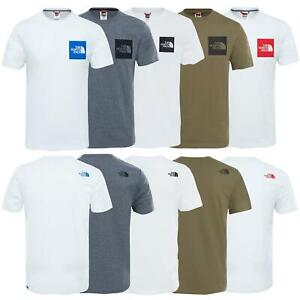 The-North-Face-Mens-TNF-Short-Sleeve-Tee-Cotton-T-Shirt-Crew-Neck-Top