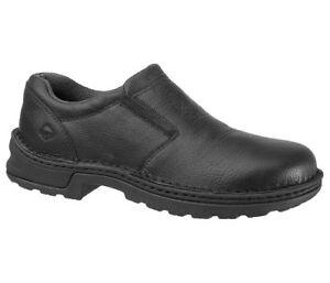 60-OFF-Wolverine-Men-039-s-W10189-Brenner-Slip-On-Steel-Toe-Work-Safety-Shoes