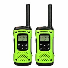 MOTOROLA Talkabout® T600 Waterproof Rechargeable Two-Way Radios, Green- 2 Pack