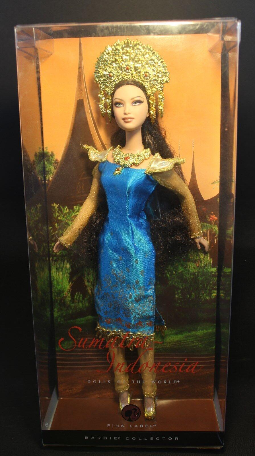 Barbie - Dolls of the World - SUMATRA- INDONESIA -  NEW - NRFB