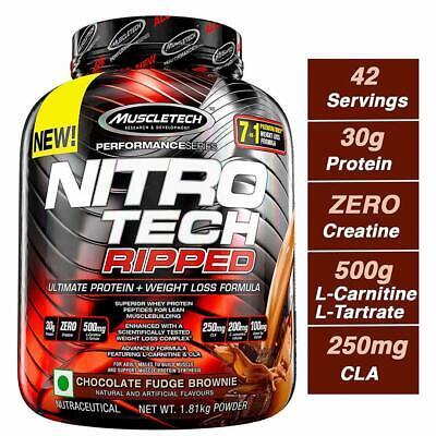 NITROTECH RIPPED in   Nitro tech, Muscletech, Nitro Pierdere în greutate nitro tech