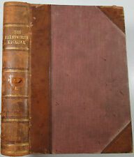 The Harmsworth Magazine half-leather bound 1898-1899 Winston Churchill's first..