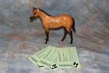 ARTIST RESIN  STOCK HORSE YEARLING OKIE TOO BY CAROL WILLIAMS WITH NAN CARDS