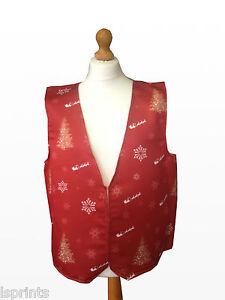 Feliz-Navidad-Chaleco-Rojo-Arboles-Santa-Copos-de-Nieve-Disfraz-Novedad-Idea