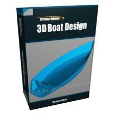 3D Boat Sailing Ship Hull Design Yacht Modelling Software Application Program