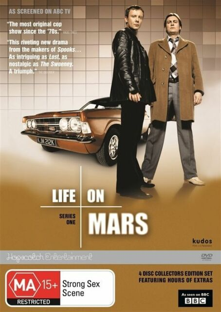 Life On Mars : Series 1 (DVD, 2012, 4-Disc Set)