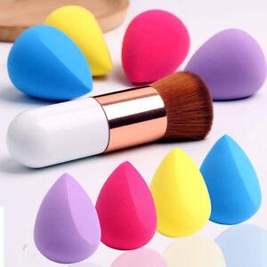 Profesional-suave-maquillaje-esponja-mezcladora-polvo-impecable-belleza-Fundacion-Puff