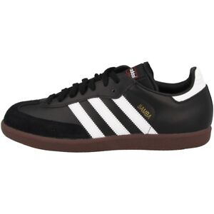 Details About Adidas Samba Classic Shoes Trainers Black 019000 Classic Indoor Halls Shoes Show Original Title