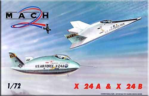 Mach Mach Mach 2 1 72 X-24a e X-24b 2 Kit 214fce