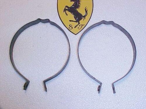 Ferrari 275 Heater Air Duct Tube Retainer Clamp Brackets Pair/_NEW/_OEM