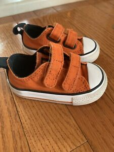 Baby Boy Converse Size 3 Orange | eBay