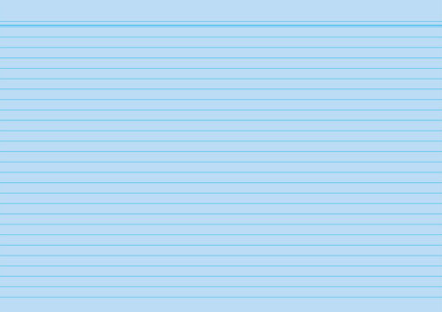 A6 100St Milan Karte... Karteikarte liniert blau holzfr Papier liniert 7mm