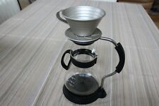 beautiful silver color 1-2 cups Stainless steel  coffee dripper