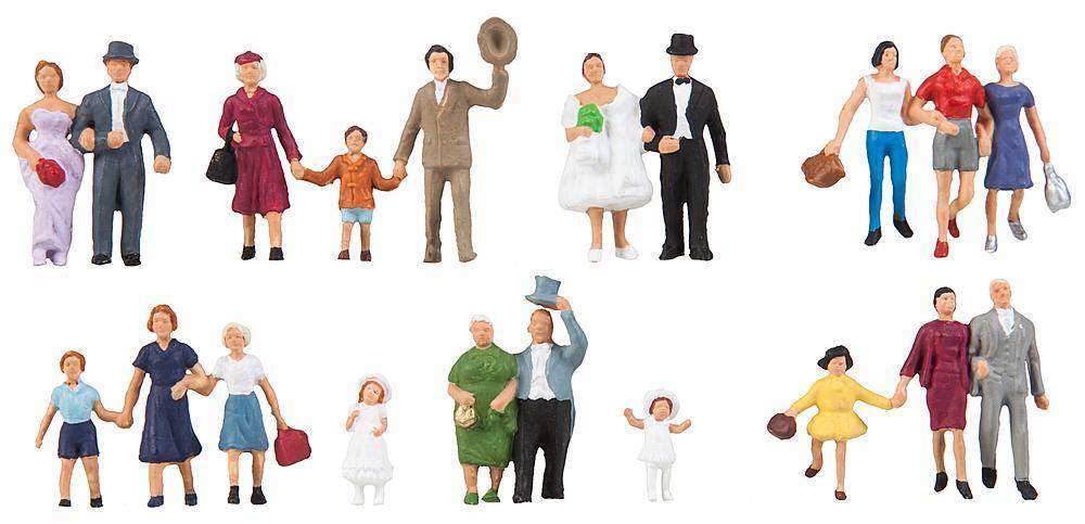 Celebración de Boda, Faller Figuras Miniaturas H0 (1 87 ), Art.150939