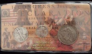 1891-Morgan-Dollar-1944-Walking-Liberty-Half-Dollar-1929-Standing-Liberty-25c