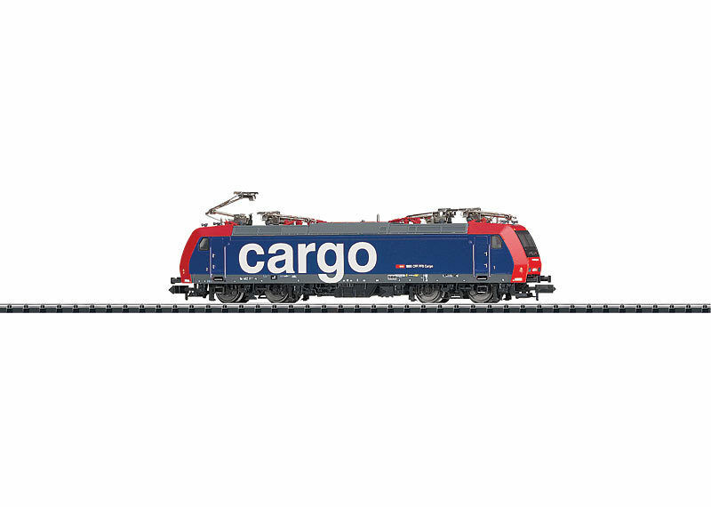 Trix Minitrix 12188 Electric Locomotive Series Re 482 SBB Cargo.  neu in OVP
