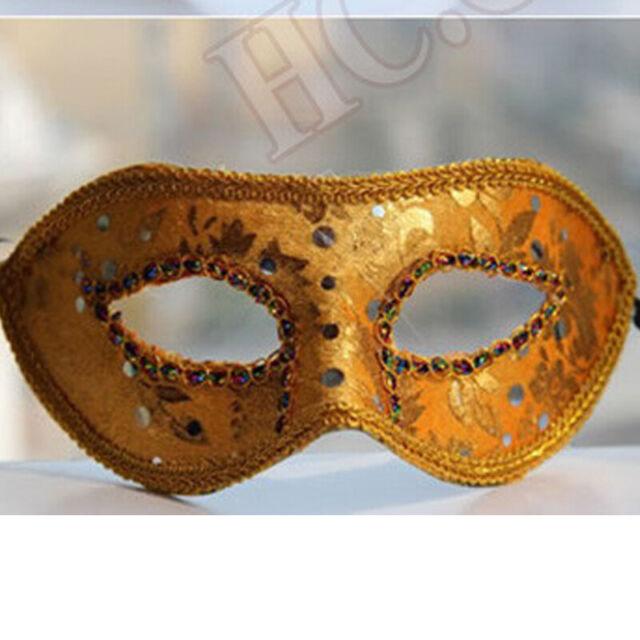 Eyemask Metallic Unisex Fancy Dress Accessory Masquerade Ball