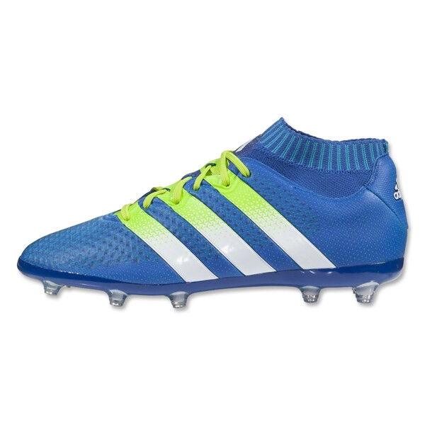 d1dcb614d canada adidas ace 16.1 primeknit fg ag junior 4 m us toddler blue ebay  17623 af72e